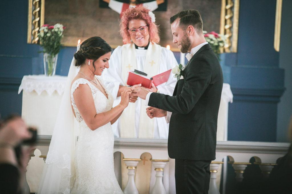 Annatarfoto bröllop Huseby bruk Växjö