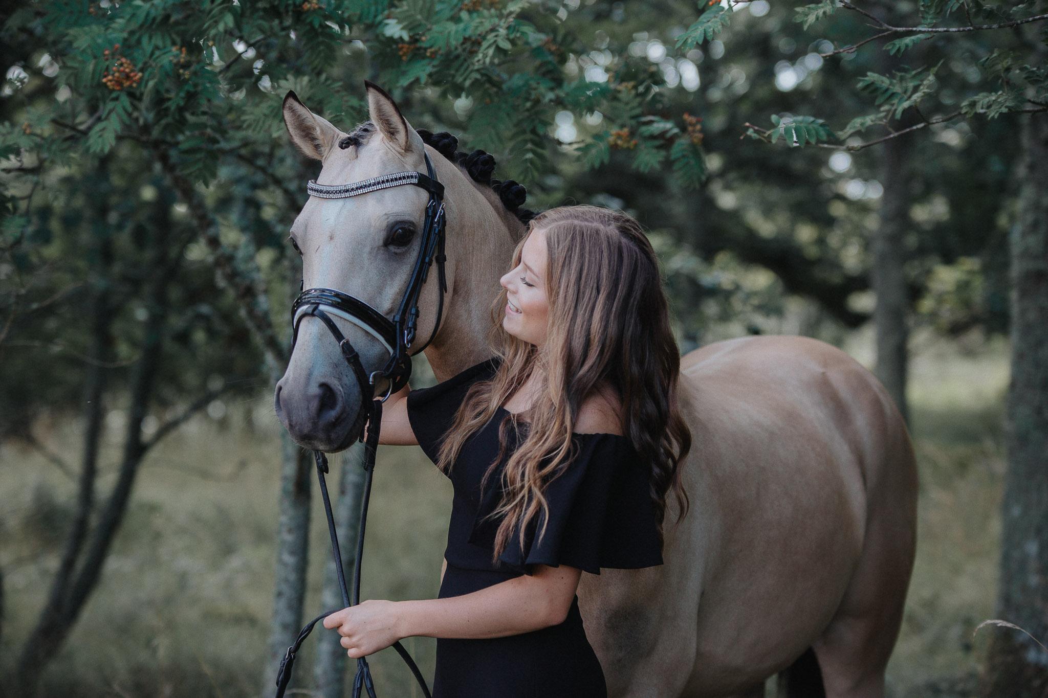 Ebba Nilsson Ebbadressage Hamilton silver Ponny-SM 2019 Annatarfoto