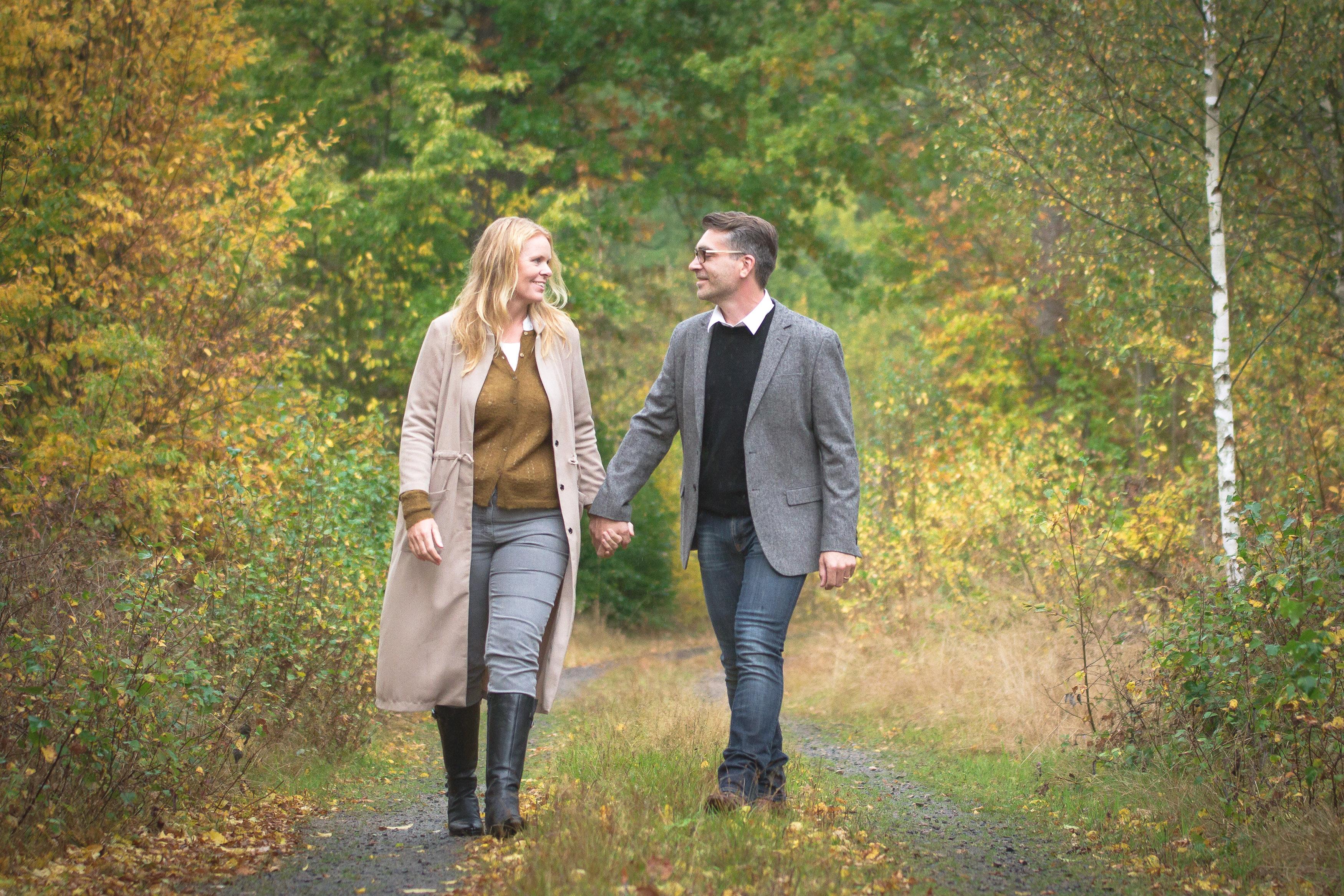 Annatarfoto parfotografering höst Bräkne-Hoby Ronneby