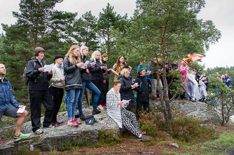 Annatarfoto bröllop natur friluftsbröllop Alingsås